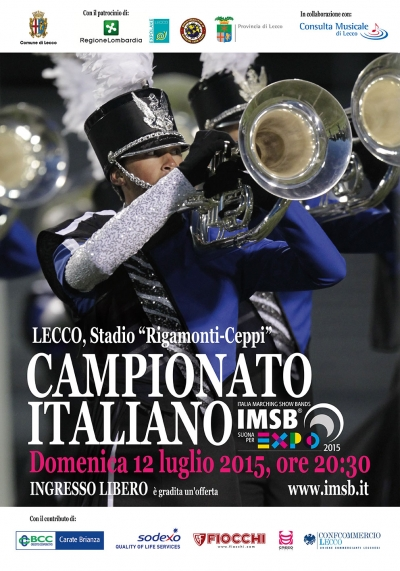 CAMPIONATO ITALIANO di MARCHING SHOW BAND - 12-7-15 - LECCO