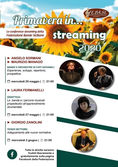 Primavera in streaming con FEBASI